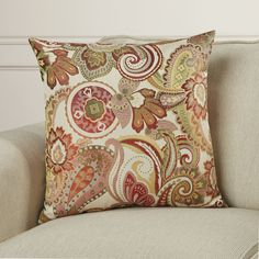 "Rosewood Pillow & Reviews | Joss & Main 18"" x 18"".  Color: Rosewood and this may be wrong color graphic!?"