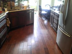 Hochwertig Charmant Cabinets And Floors | Hickory Kitchen Floor Hardwood Floors Inc  Oviedo FL | Wood Flooring