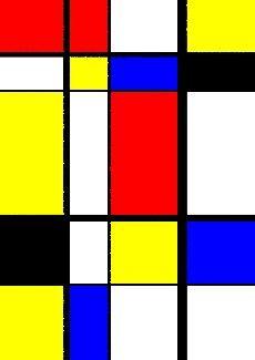 Comme Mondrian!