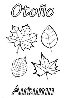 Coloring Page 2018 for Hojas Otono Para Colorear, you can see Hojas Otono Para Colorear and more pictures for Coloring Page 2018 at Children Coloring. Nature Crafts, Fall Crafts, Diy And Crafts, Crafts For Kids, Arts And Crafts, Stencil, Butterfly Crafts, Art Template, Kids Church