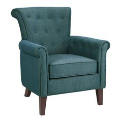 Tomlin Rollback Chair - Peacock