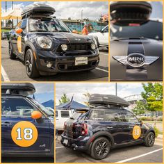The Broncos Schomp MINI is ready for the season! | MINI in Denver | Broncos MINI | Denver Broncos | Broncos country | United in Orange | Broncos Pride | Broncos Car | MINI Cooper | MINI countryman