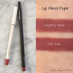 @beautyalamari shared these gorgeous swatches with us on our #dupethat tag! We love Colourpop's formula (and price) at $5 vs. $16! Total dupe!