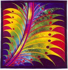 Feather Study #9 by Caryl Bryer Fallert: December, 1999