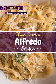 Olive Garden Alfredo Sauce. If you are looking for a simple and tasty meal that is both healthy and delicious. #CrockpotRecipes #CookingRecipes #HealthyRecipes #DryRubRecipes #HealthyFood #CrockPotCooking #BaconRecipes #MilkRecipes #HealthyMealPrep