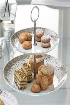 Platinum glimmer cake stand #mycosyhome