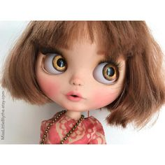 OOAK Custom Blythe Doll fake  Chiara