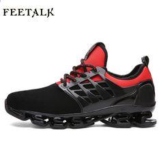 check out d5b11 46554 Super Cool ademende loopschoenen mannen sneakers bounce zomer outdoor  sportschoenen Professionele training schoenen plus maat 46