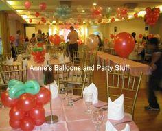 Strawberry Shortcake Theme Party Balloons