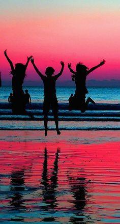 Celebrate the sunset! Siesta Key, FL