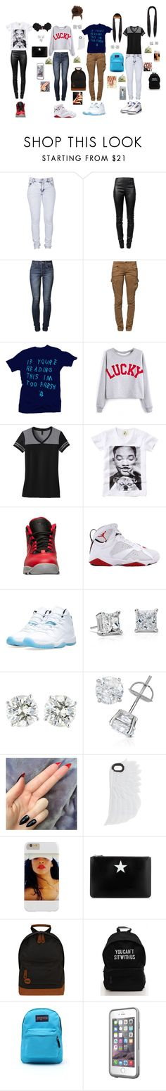 """""""Step it up you is laggin"""" by that-trendy-jetsetter ❤ liked on Polyvore featuring Cheap Monday, Alexander Wang, Levi's, G-Star Raw, Too Late, ElevenParis, Retrò, NIKE, Blue Nile and Originalis Factory"""
