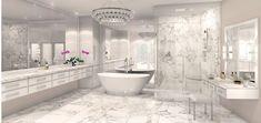 Luxury Master Bathrooms, Bathroom Design Luxury, Dream Bathrooms, Beautiful Bathrooms, Bathroom Design Software, Bathroom Tile Designs, Bathroom Layout, Dream House Interior, Luxury Homes Dream Houses