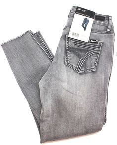 76cc6599a7c Ladies Molokai High Rise Ankle Skinny Jeans Blue Size 10 Size 10 Distressed  blue Zipper and button pockets Cropped hem Length: Waist: Inseam: CP