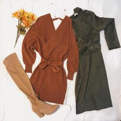 2a5673869ae The Perfect Affordable Sweater Dresses For Fall Winter + Suede Trench Coats  that will keep you warm in those colder months.