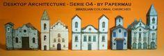 Here  five simple Brazilian Colonial Churches . Enjoy!   Cinco Igrejas Coloniais Brasileiras . Bom Divertimento!    Brazilian colonial archi...