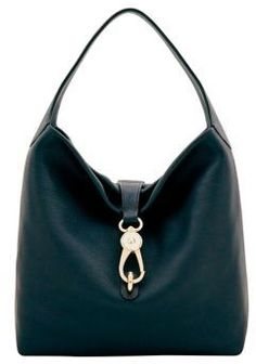 735ab0027295 Dooney   Bourke Logolock Leather Hobo Bag Medium Sized Bags