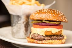 Is your mouth watering yet? - Macaroni and Cheese Burger
