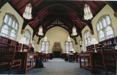 The most beautiful library I've ever studied in! My desk was always on the 3 floor!  McCain Library, Agnes Scott College