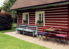 :-) Outdoor Furniture Sets, Outdoor Decor, Countryside, Patio, House, Home Decor, Decoration Home, Home, Room Decor