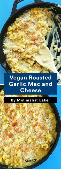 no dairy mac: Vegan Roasted Garlic Mac and Cheese