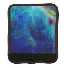 Shop Orion Nebula cosmic galaxy space universe Luggage Handle Wrap created by Nasaworld. Custom Luggage, Orion Nebula, Hubble Space Telescope, Galaxy Space, Light Year, Everyday Objects, Black Trim, Cosmic, Gifts For Women