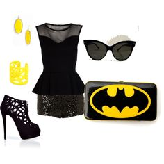 Batwoman, created by marah-g-conner on Polyvore