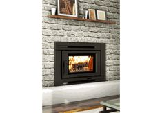 Osburn Matrix Wood Insert and more at Obadiah's. Outdoor Wood Burning Fireplace, Wood Burning Fireplace Inserts, Linear Fireplace, Fireplace Tool Set, Fireplace Screens, Wood Fireplace, Natural Gas Patio Heater, Propane Patio Heater, Fireplace Mantels For Sale