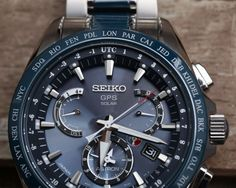 The Seiko brand is a Japanese watch company that is known for the elite timepieces that they manufac. Watch Companies, Watch Brands, Seiko Sportura, Gadget Watches, Types Of Technology, Photovoltaic Cells, Herren Chronograph, Titanium Watches, Mechanical Watch