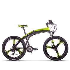 RichBit New Electric Bike Folding ebike Mountain Hybrid Electric Bicycle Frame Inside Li-on Battery ebike. Electric Mountain Bike, Mountain Bicycle, Electric Bicycle, Mountain Biking, Bicycles For Sale, Motorised Bike, Bike Folding, Frame, Products