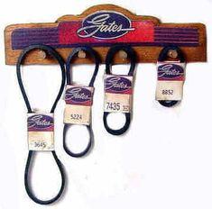 Fan belt display