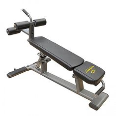 Unified Fitness Commercial Element Ab and Crunch Bench * Click image for more details.