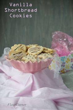 Flavz Corner: Eggless CutOut Shortbread Cookies