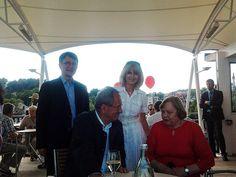 Tim Weidner, Christian Ude, Elisabeth Fuchsenberger und Maria Fischer