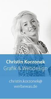 Christin Korzonek – Grafik & Webdesign