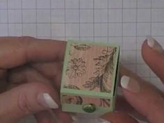 Stamping T! - Mini Mentos Box - YouTube