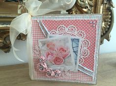 Maja Design papers - summer Crush with homemade roses