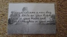 Laminated Wallet Size Inspirational Quote/Message Keepsake Cards -  New Day on Etsy, £2.50