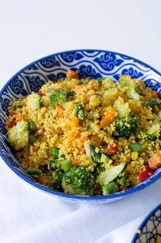 Colliflower Recipes, Healthy Crockpot Recipes, Healthy Eating Recipes, Healthy Salads, Vegetarian Recipes, Avacado Dinner, Easy Cooking, Ethnic Recipes, Food