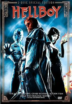 Hellboy is a 2004 American supernatural superhero film , starring Ron Perlman and directed by Guillermo del Toro . The film is loo. Scary Movie List, Scary Movies, Great Movies, Hd Movies, Movies To Watch, Movies Online, Movies And Tv Shows, Movie Tv, Halloween Movies