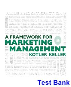 Foundations of financial management 16th edition test bank block framework for marketing management 6th edition kotler test bank test bank solutions manual fandeluxe