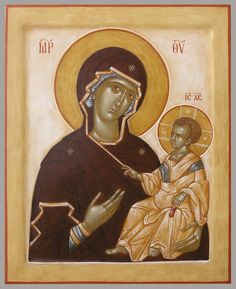 """Virgin Hodigitria (""""She Who Points the Way"""") Church Interior, Byzantine Art, Holy Mary, Orthodox Icons, Mother And Child, Our Lady, Religion, Mermaid, Marvel"""