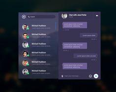 Mobile Chat Messenger App