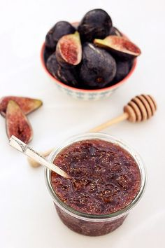 Fig Honey Jam – Gluten-free + Refined Sugar-Free // Tasty Yummies