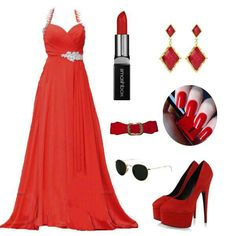 Can never go wrong with red <3