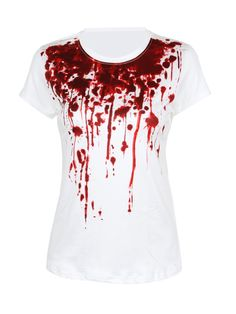 Bloody Printed T-Shirt Only $14.95 USD More info...