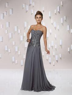 Elegant sleeveless A-line floor-length bridesmaid gowns sara365