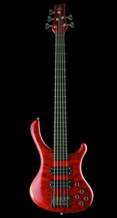 Blasius Guitars -Bali 5string with Lace Sensor Pickups (via Bass Players United)