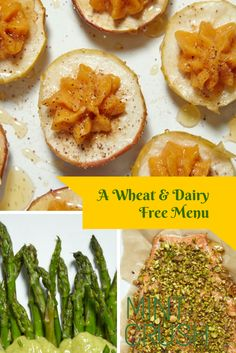 A wheat free and Dairy Free menu for any occasion