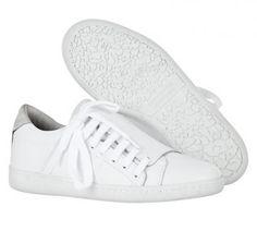 Les sneakears slash blanches Comptoir des Cotonniers 99 euros