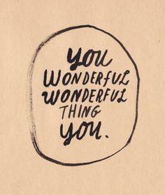 Wonderful thing ツ